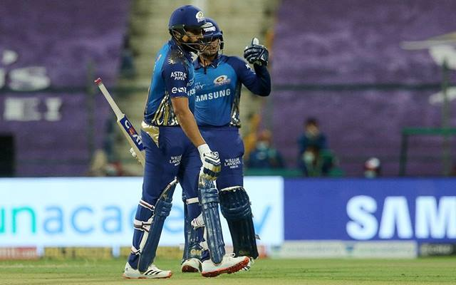 Quinton de Kock and Rohit Sharma