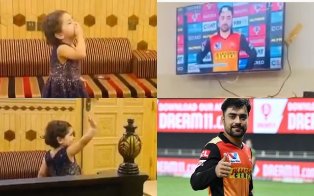 Rashid Khan and his little fan