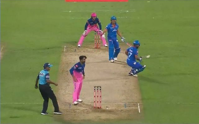 Rishabh Pant run out