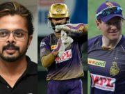 S Sreesanth, Dinesh Karthik and Eoin Morgan