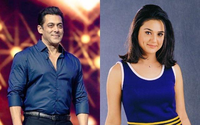 Salman Khan and Priety Zinta