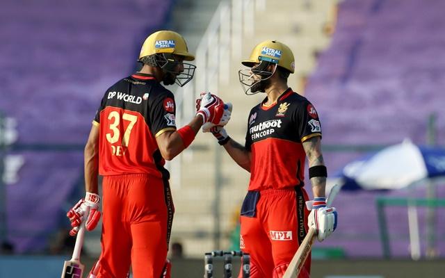 Virat Kohli & Devdutt Padikkal