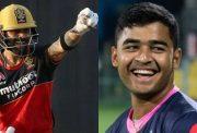 Virat Kohli and Riyan Parag