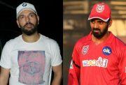 Yuvraj Singh and KL Rahul
