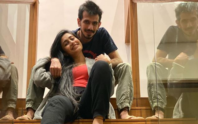 Yuzvendra Chahal and his fiance