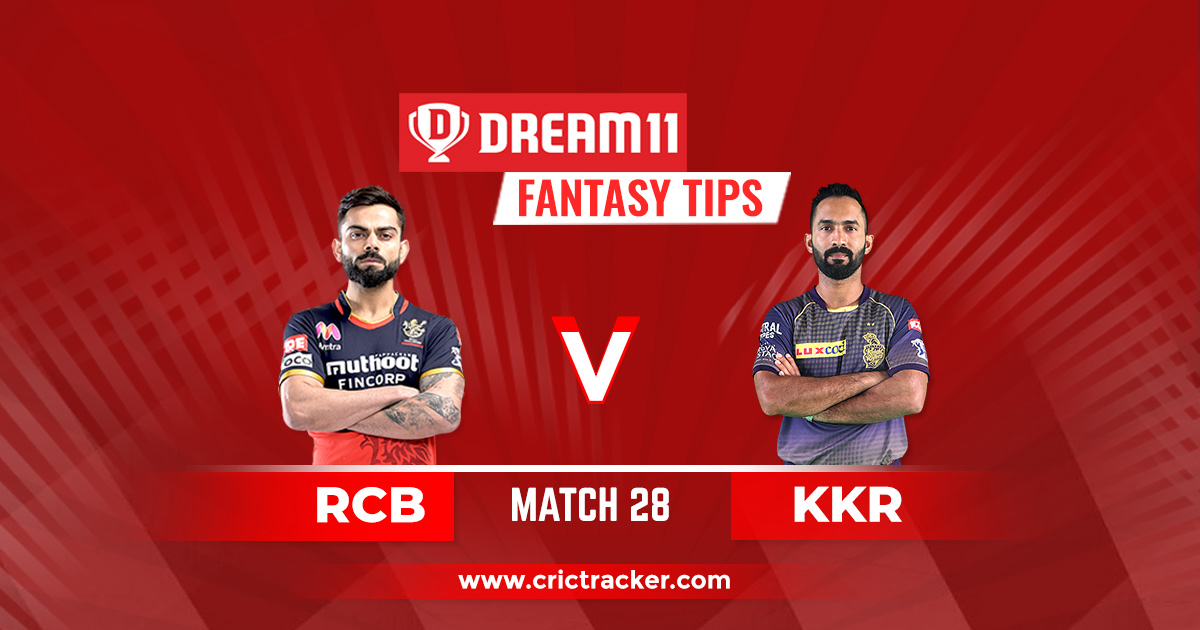 RCB vs KKR Prediction, Dream11 Fantasy Cricket Tips ...