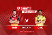 SRH vs CSK D11 IPL 2020 M29