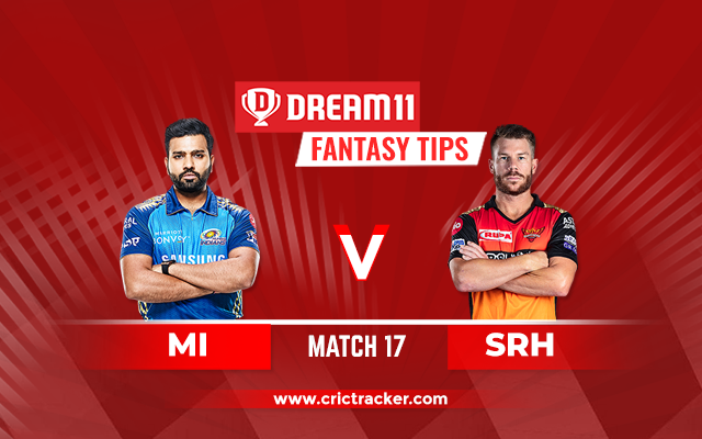 MI vs SRH Dream11 IPL 2020 M17