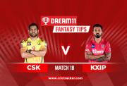 KXIP vs CSK Dream11 IPL 2020 M18