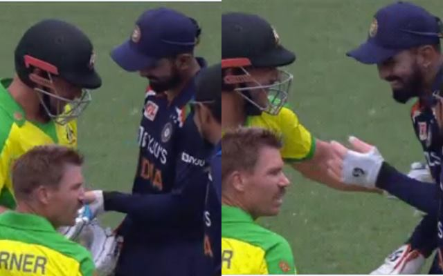 Aaron Finch and KL Rahul