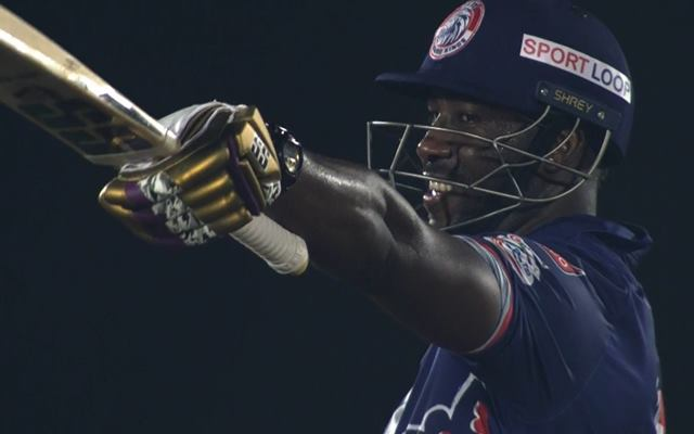 Andre Russell gloves