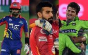 Babara Azam, Shadab Khan and Shaheen Afridi