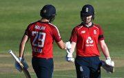 Dawid Malan and Eoin Morgan