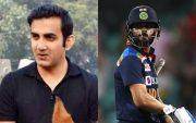 Gautam Gambhir and Virat Kohli