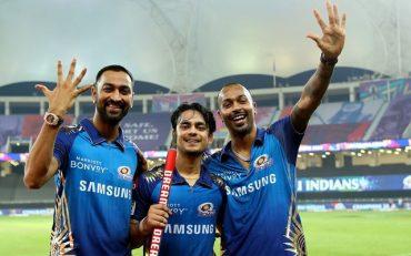 Hardik Pandya, Krunal Pandya and Ishan Kishan