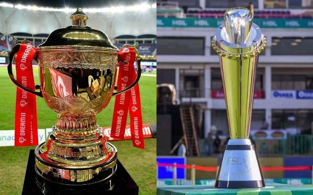 IPL and PSL trophy