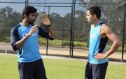 Jasprit Bumrah and Kartik Tyagi