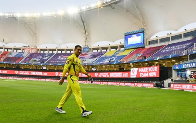 MS Dhoni CS