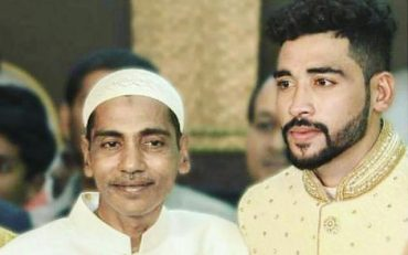 Mohammad Siraj and his father