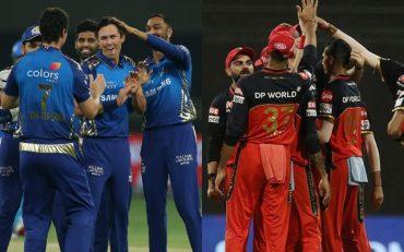Mumbai Indians and Royal Challengers Bangalore