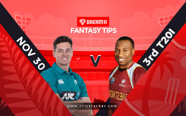Third New Zealand vs West Indies T20I rained off