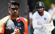 Ravichandran Ashwin and Cheteshwar Pujara