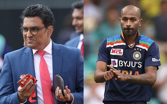 Sanjay Manjrekar and Hardik Pandya