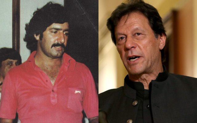 Sarfraz Nawaz and Imran Khan