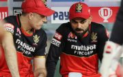 Simon Katich and Virat Kohli