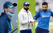 Steve Smith, Rohit Sharma and Virat Kohli