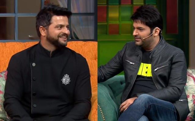 Suresh Raina and Kapil Sharma