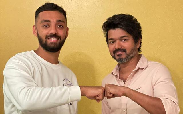 Varun Chakaravarthy and actor Vijay