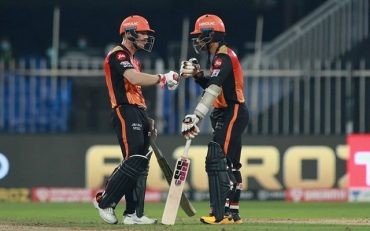 Wriddhiman Saha and David Warner