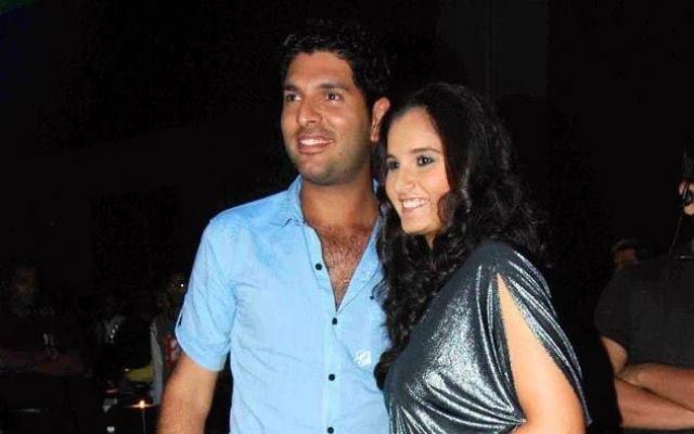 Yuvraj Singh and Sania Mirza