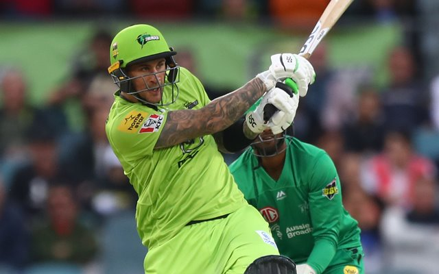 Alex Hales of the Thunder