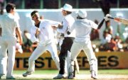 Dennis Lillee and Javed Miandad fight, 1981