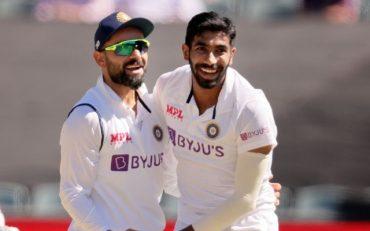 Jasprit Bumrah and Virat Kohli India vs England
