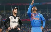 Kane Williamson and MS Dhoni