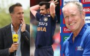 Michael Vaughan, Yuzvendra Chahal and Tom Moody