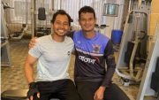 Mushfiqur Rahim and Nasum Ahmed