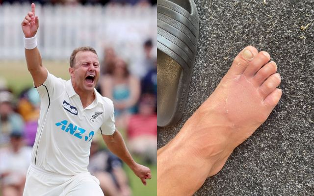 New Zealand vs Pakistan: Neil Wagner bowls with a fractured toe; picks up two wickets on Day 3