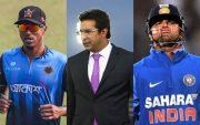 Rubel Hossain, Wasim Akram and Suresh Raina