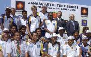 Sri Lanka Test in 1997