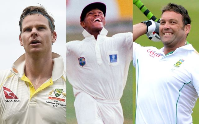Steve Smith, Brian Lara and Jacques Kallis