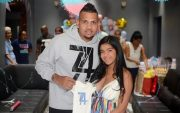 Sunil Narine and his wife