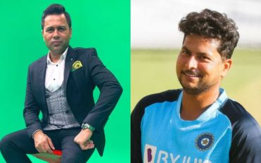 Aakash Chopra and Kuldeep Yadav