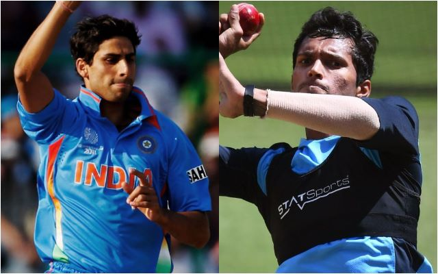 Ashish Nehra and Navdeep Saini
