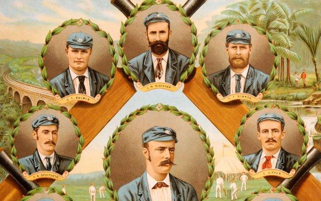 Australian team in 1884