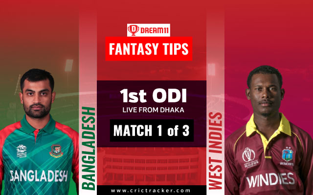 Bangladesh Wins Toss In 1st ODI, Sends West Indies In To Bat