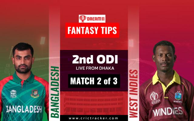 West Indies Tour of Bangladesh, 2nd ODI